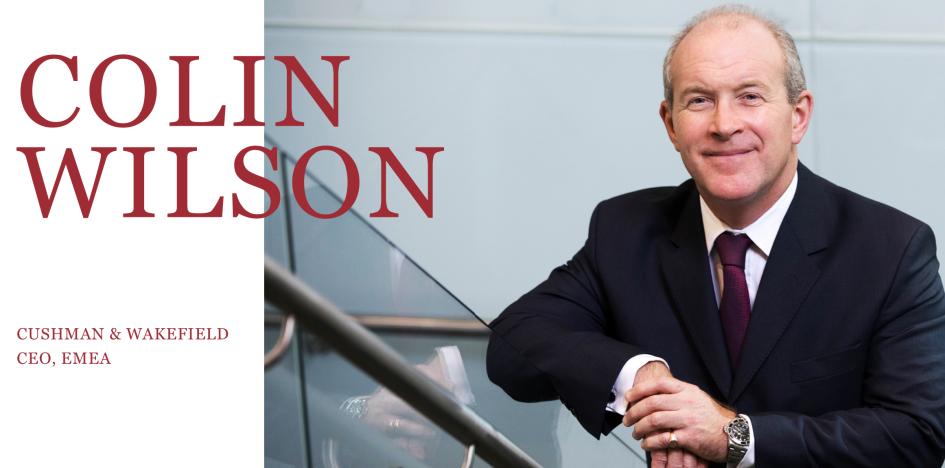 Cushman & Wakefield EMEA CEO'su Colin Wilson ile Bir Araya Geldik