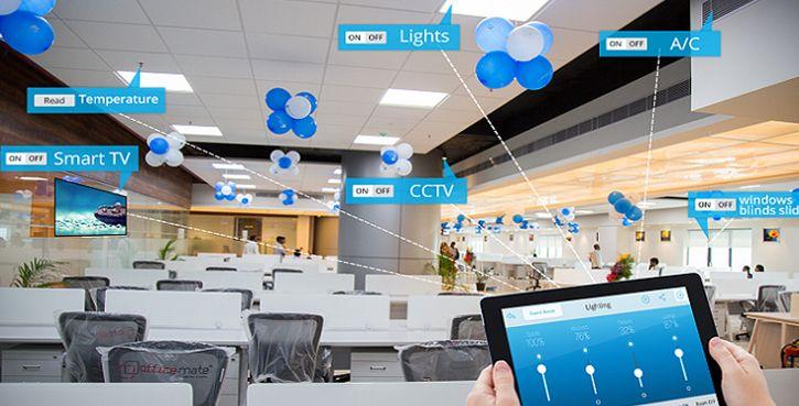 Nesnelerin İnterneti Teknolojisinin Yeni Nesil Ofislere Entegrasyonu